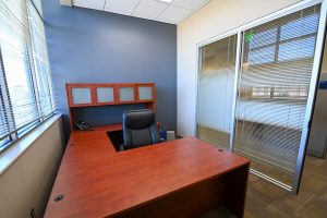 Private office at Solo Space at The Park